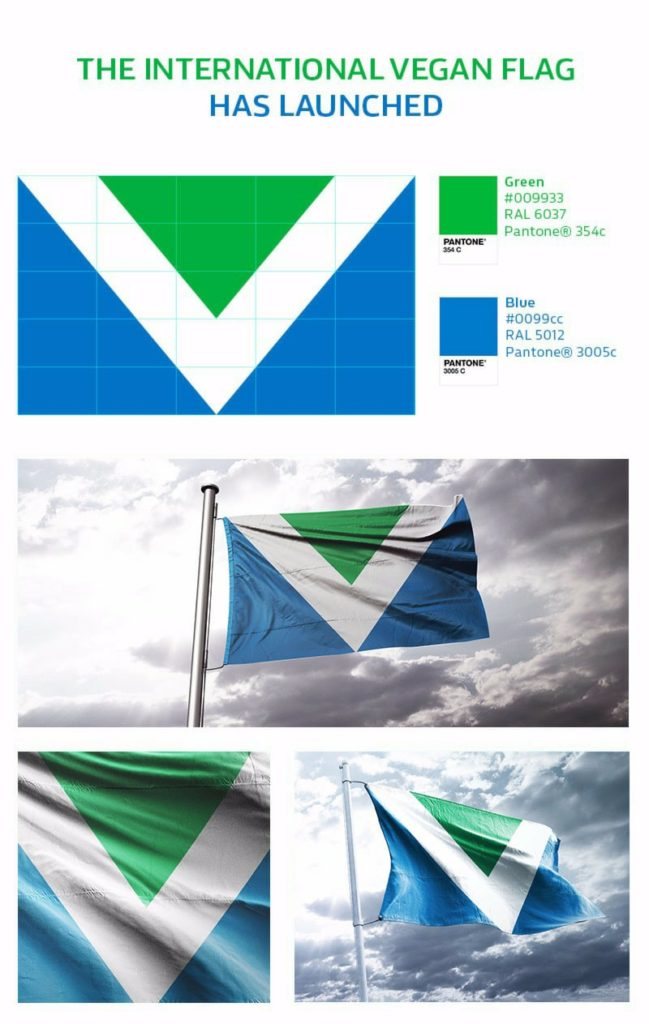 vegan flag officialy announced