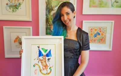 Maria Tiqwah – the artist behind the Coat of arms
